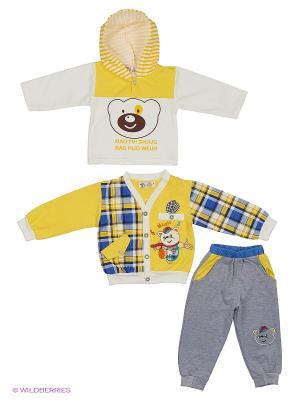 Комплект Patano. Цвет: желтый, белый, синий, серый
