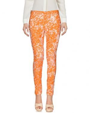 Повседневные брюки NEW YORK INDUSTRIE. Цвет: оранжевый