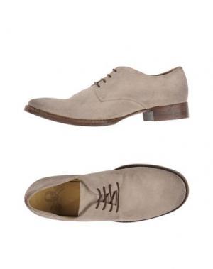 Обувь на шнурках MR. WOLF. Цвет: бежевый
