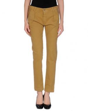 Повседневные брюки 40WEFT. Цвет: верблюжий