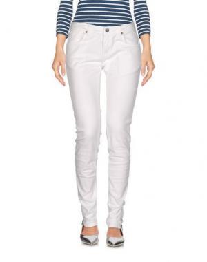 Джинсовые брюки BRIGITTE BARDOT. Цвет: белый