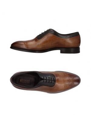 Обувь на шнурках FRANCESCHETTI. Цвет: коричневый