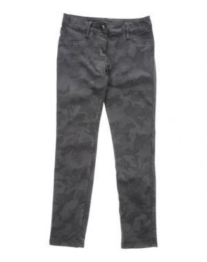 Повседневные брюки EDDIE PEN. Цвет: свинцово-серый