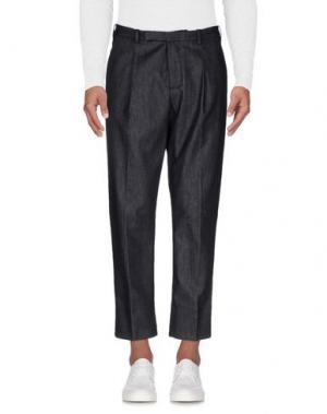 Джинсовые брюки HŌSIO. Цвет: черный