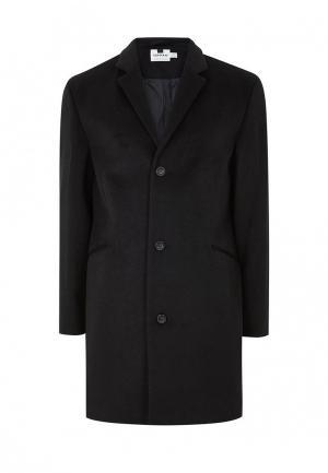 Пальто Topman. Цвет: черный