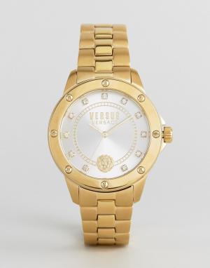 Versus Versace Золотистые наручные часы S2803 South Horizons. Цвет: золотой