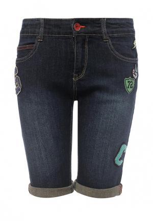Шорты джинсовые Catimini. Цвет: синий