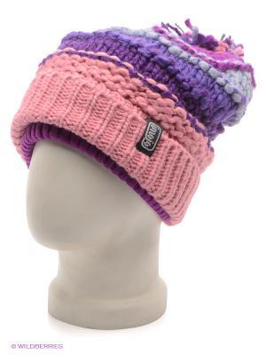 Шапка Imojo. Цвет: розовый, фиолетовый