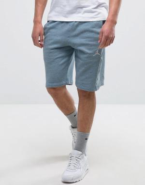 Jordan Синие шорты Nike Flight Lite 809454-401. Цвет: серый