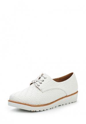 Ботинки Ciengrados. Цвет: белый
