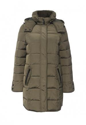 Куртка утепленная Mavi. Цвет: хаки