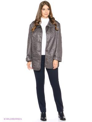 Куртка Emi Filini. Цвет: серый