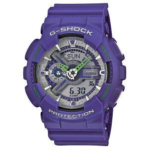 Часы  Ga-110dn-6a Purple Casio G-Shock. Цвет: фиолетовый