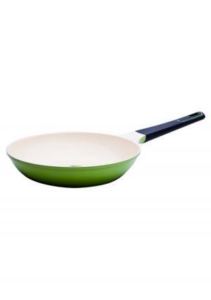 Сковорода Evergreen Frybest. Цвет: зеленый (оливковый)