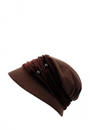 Шляпа Miss sherona. Цвет: коричневый