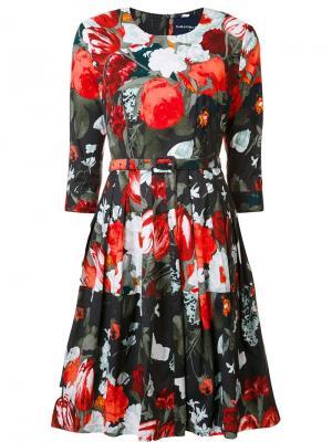 Платье Rachel Samantha Sung. Цвет: чёрный