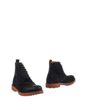 Полусапоги и высокие ботинки GABARDINE. Цвет: стальной серый