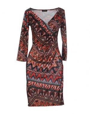 Короткое платье ALFONSO RAY. Цвет: красный