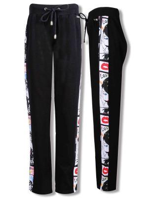 Спортивные брюки De Salitto. Цвет: черный