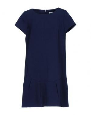Короткое платье MIGUEL PALACIO for HOSS INTROPIA. Цвет: темно-синий
