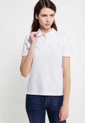 Поло Marks & Spencer. Цвет: белый