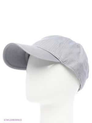 Бейсболка NIKE SWOOSH H86 - BLUE. Цвет: светло-серый, серебристый, сиреневый