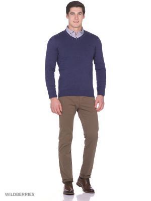 Пуловер Boston Brothers. Цвет: темно-синий