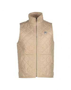 Куртка OM. Цвет: бежевый