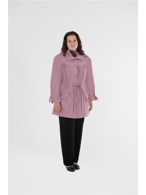 Куртка БаяНа. Цвет: розовый
