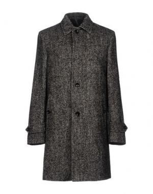 Пальто MONTEDORO. Цвет: серый