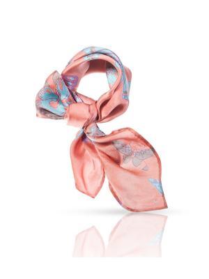 Платок MICHEL KATANA`. Цвет: розовый, бирюзовый