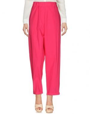 Повседневные брюки LABO.ART. Цвет: фуксия