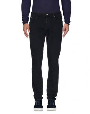 Джинсовые брюки MELTIN POT. Цвет: темно-синий