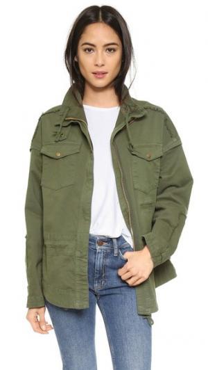 Куртка в стиле милитари McGuire Denim. Цвет: seafarer