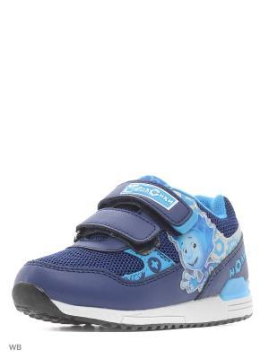 Кроссовки Kakadu. Цвет: синий