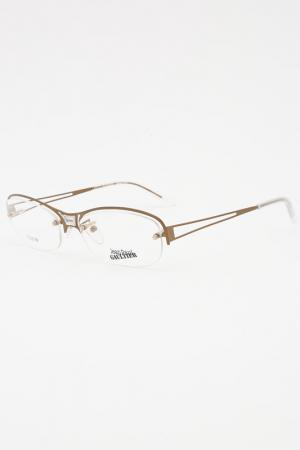 Декоративная оправа Jean Paul Gaultier. Цвет: золотистый