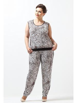 Комплект одежды Lina. Цвет: бежевый