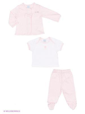 Комплект Cutie Bear. Цвет: розовый, белый