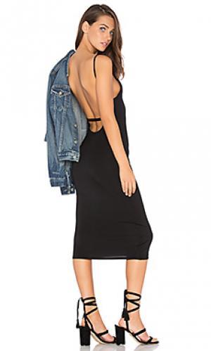 Bare back midi dress Rachel Pally. Цвет: черный