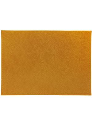 Обложка для паспорта песочная Tina Bolotina. Цвет: рыжий