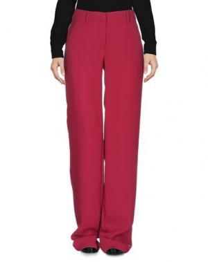 Повседневные брюки JO NO FUI. Цвет: пурпурный