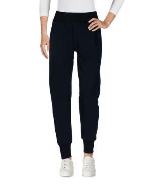 Повседневные брюки REBELLO. Цвет: темно-синий