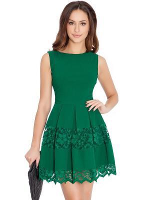 Платье Goddess London. Цвет: зеленый