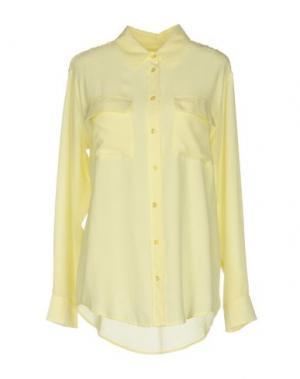 Pубашка EQUIPMENT FEMME. Цвет: светло-желтый