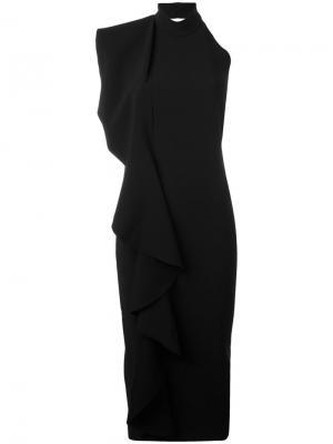 Платье Amelle Solace. Цвет: чёрный