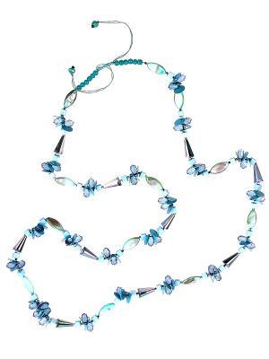 Колье Infiniti. Цвет: голубой, зеленый