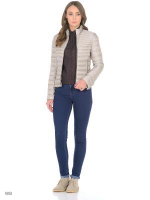 Куртка - BLANDIRU Mango. Цвет: светло-коричневый