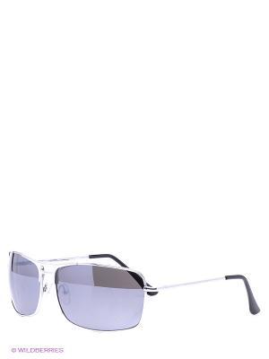 Солнцезащитные очки Vittorio Richi. Цвет: серебристый, темно-серый
