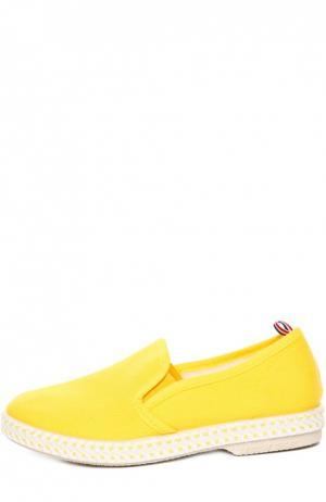 Эспадрильи Rivieras Leisure Shoes. Цвет: желтый