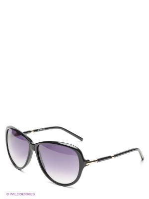 Солнцезащитные очки ML 519S 01 MOSCHINO. Цвет: черный